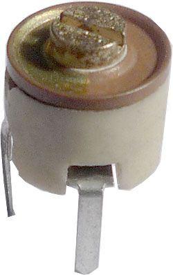 Kapacitní trimr 7-35pF keramický, průměr 7mm
