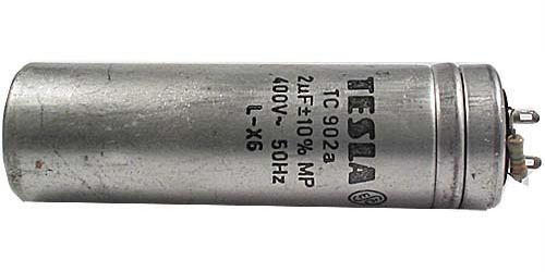 2u/400VAC TC902A,kondenzátor zářivkový 31x100mm