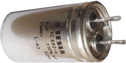 8u/250V~ TC682a, kondenzátor zářivkový