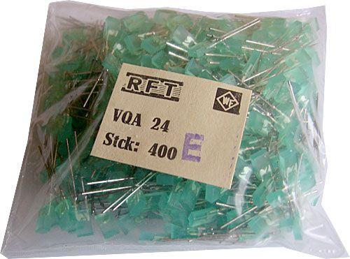 LED 2,5x5mm zelená difuzní VQA24E, balení 400ks