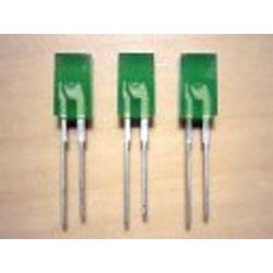 LED 2,5x5mm zelená difuzní LQ1802