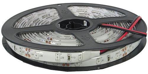 LED pásek 8mm, žlutý, 60xLED2835/m, IP65, cívka 5m