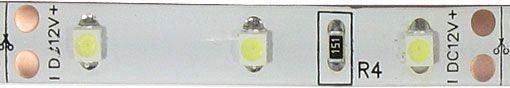 LED pásek 8mm,bílý,60xLED3528/m,IP65, modul 5cm