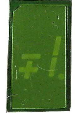 LQ380 zobrazovač +-1., zelený TESLA