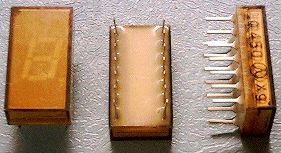 LQ450 zobrazovač .8., žlutý, TESLA