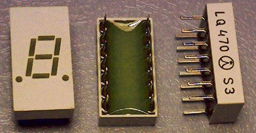 LQ470 zobrazovač .8., zelený, TESLA