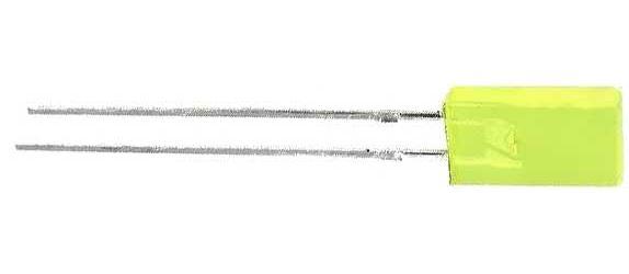 LED 2,5x5mm žlutá dif. 4mCd/ 110° L383YDT