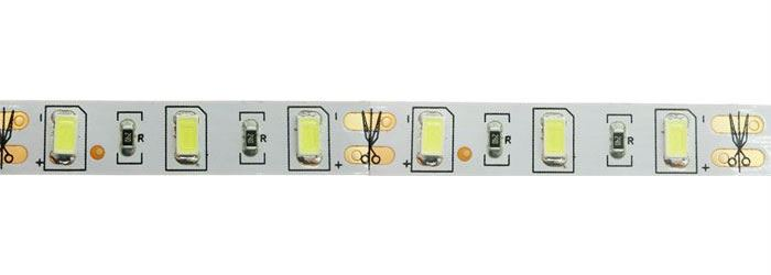 LED pásek 10mm bílý teplý, 60x LED5730/m, IP20, modul 5cm
