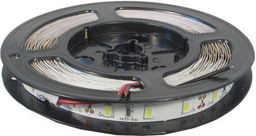 LED pásek 10mm denní bílá, 60x LED5730/m, IP20, cívka 5m