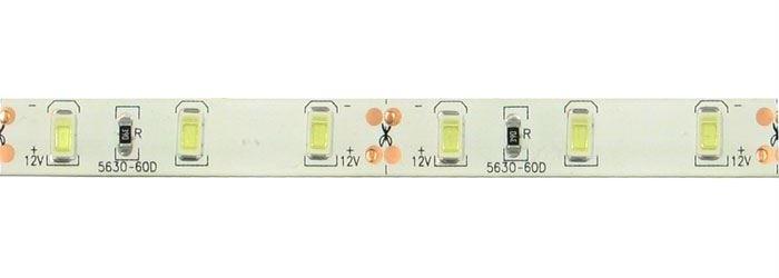 LED pásek 10mm bílý, 60x LED5730/m, IP65, 23xzbytek DOPRODEJ