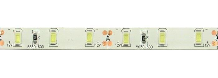 LED pásek 10mm denní bílá, 60x LED5730/m, IP65, modul 5cm