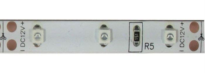 LED pásek 8mm žlutý,60xLED3528/m,IP20, modul 5cm