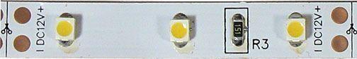 LED pásek 8mm bílý,60xLED3528/m,IP20, 7x zbytek celkem 5,2m