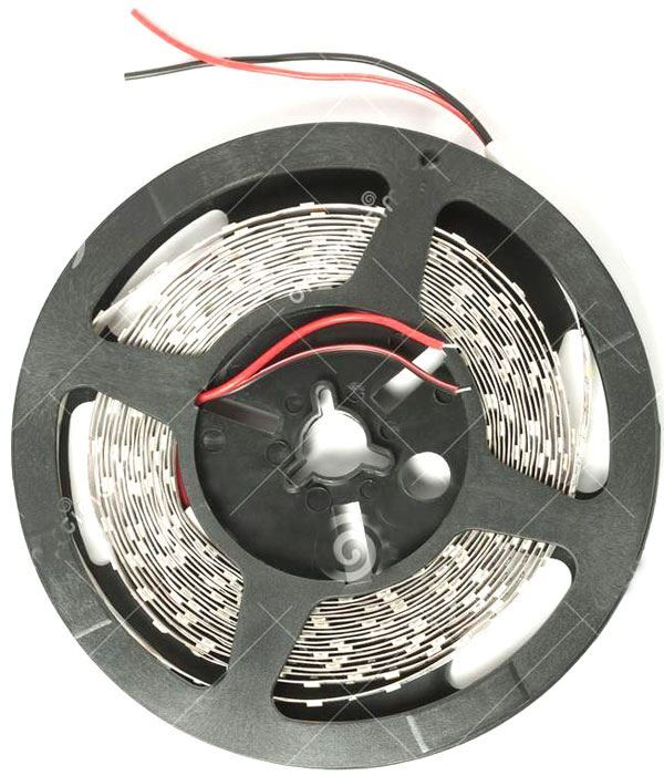LED pásek 10mm žlutý, 60xLED5050/m,IP20, cívka 5m