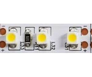 LED pásek 8mm bílý teplý,120xLED3528/m,IP20, modul 2,5cm