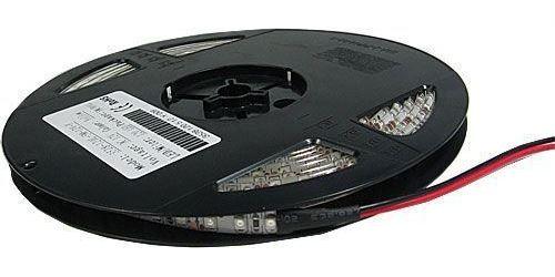 LED pásek 8mm červený,120xLED3528/m,IP65, cívka 5m