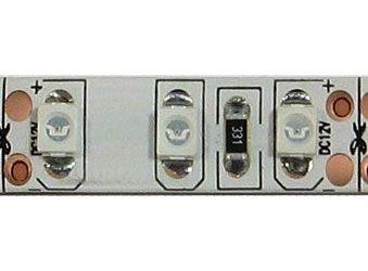 LED pásek 8mm červený,120xLED3528/m,IP65, modul 2,5cm