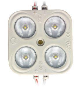 LED modul 3xSMD5630 bílý extra studený, 12V