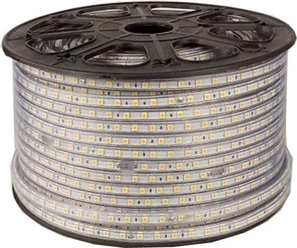 LED pásek 230V bílý teplý, 60xLED5050/m, IP65, balení 50m