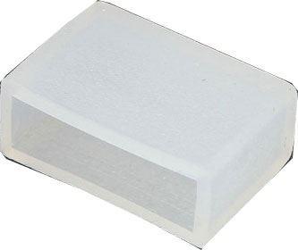 Koncovka pro LED pásek 230V RGB, šířka 15mm