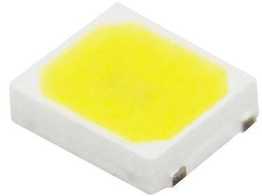 LED SMD 2835 bílá teplá 3000K, 55lm/ 0,5W 120°