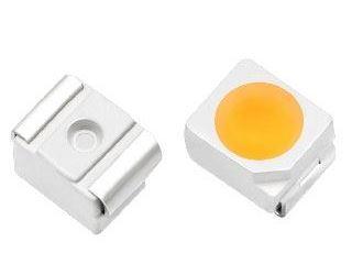 LED SMD 3528 bílá 4000K 2,2Cd/ 20mA 120°