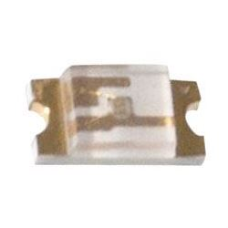 LED SMD 0603 žlutá čirá 80mCd/ 15mA 120°