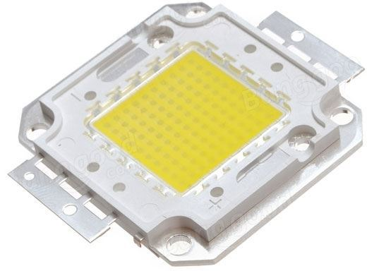 LED 50W Bridgelux, denní bílá 4000K, 5300lm/1500mA,30-32V,120°