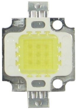 LED 10W Bridgelux, teplá bílá 3000K, 900lm/300mA,26-28V,120°