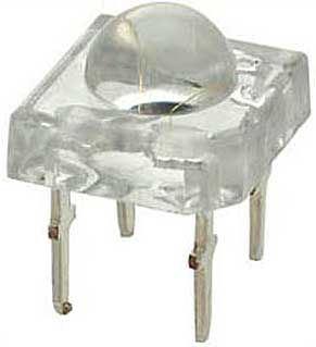 LED flux, bílá čirá 2Cd/ 20mA 50° 7,6x7,6mm