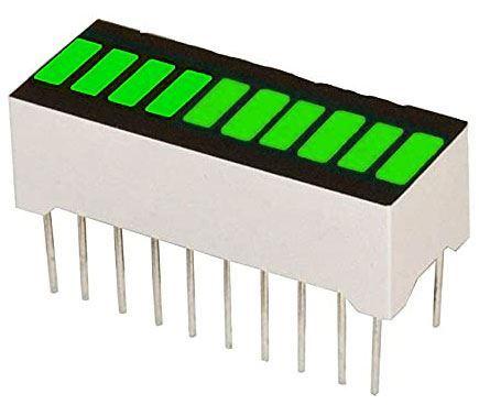 Bargraf SHB10E, 10x LED, zelený
