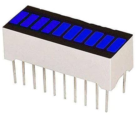 Bargraf SHB10B, 10x LED, modrý