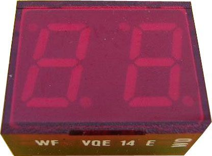 VQE14E zobrazovač .8.8., červený, RFT