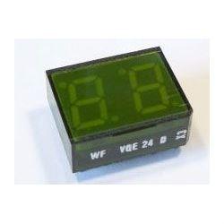 VQE24D zobrazovač .8.8., zelený, RFT