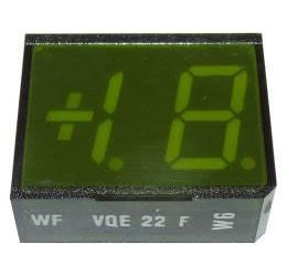 VQE22F zobrazovač +1.8., zelený, RFT