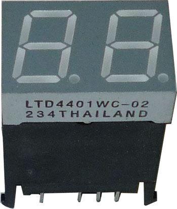 Displej LED LTD-4401WC-02 8.8. červený, společné anody
