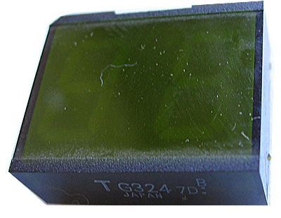 TGL324B /=VQE23/ zobrazovač .8.8., zelený, Toshiba