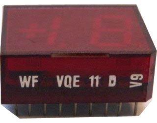 VQE11B zobrazovač +1.8., červený, RFT