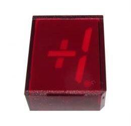 VQB16E zobrazovač +1., červený, RFT
