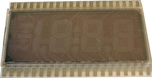 Displej 4DT822C - průhledný, bez reflexní vrstvy