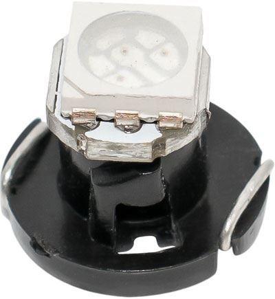 Žárovka LED T4,7 12V/0,5W modrá