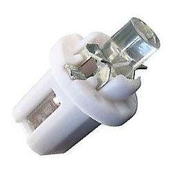 Žárovka LED B8,5D 12V/0,2W bílá