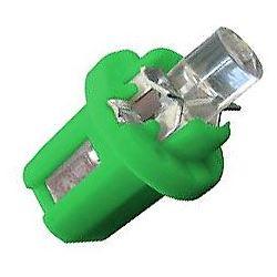 Žárovka LED B8,5D 12V/0,2W zelená