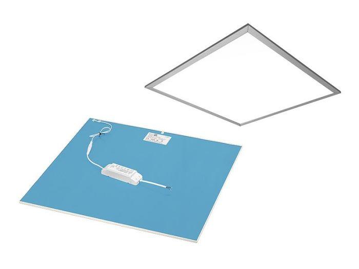 Podhledové světlo LED 50W, 600x600mm, teplá bílá, 230V/50W