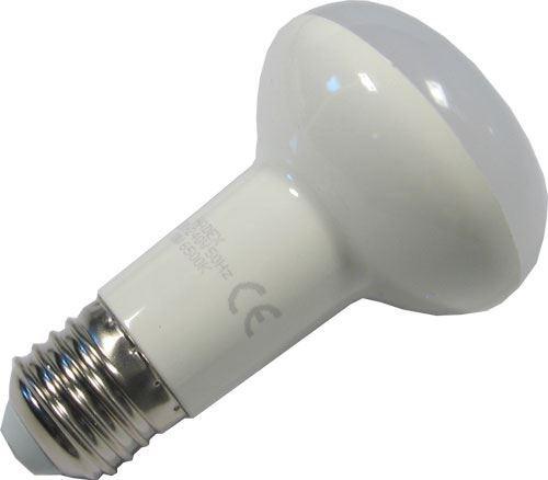 Žárovka LED E27 R63 reflektorová, teplá bílá, 230V/10W