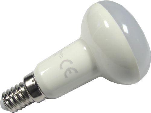 Žárovka LED E14 R50 reflektorová, teplá bílá, 230V/6W