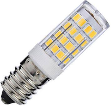Žárovka LED E14 corn, 51xSMD2835, 230V/3,5W, teplá bílá