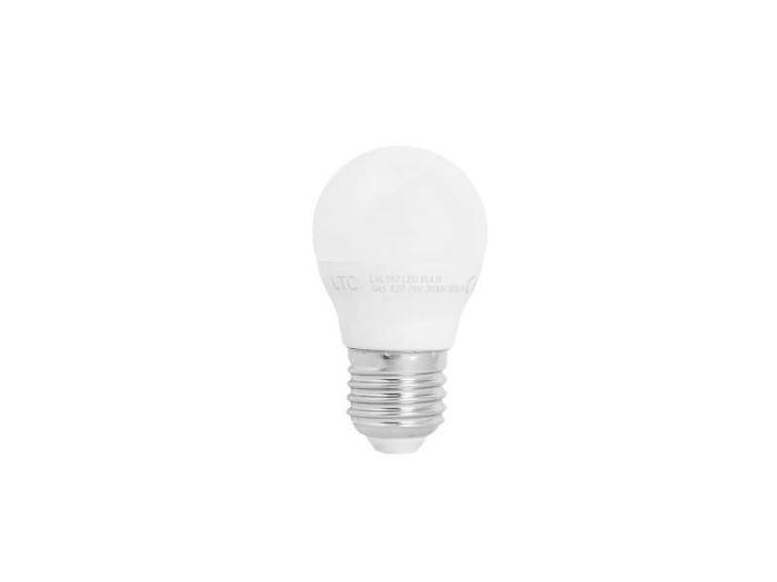 Žárovka LED E27 G45 SMD 230V/7W, bílá teplá, LTC