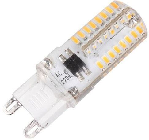 Žárovka LED G9, 64x SMD3014, 230VAC/2,5W, teplá bílá