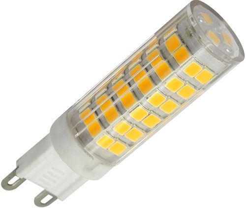 Žárovka LED G9, 75x SMD2835, 230VAC/4,5W, teplá bílá